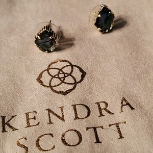 Kendra Scott Tessa  Earrings in Abalone Shell